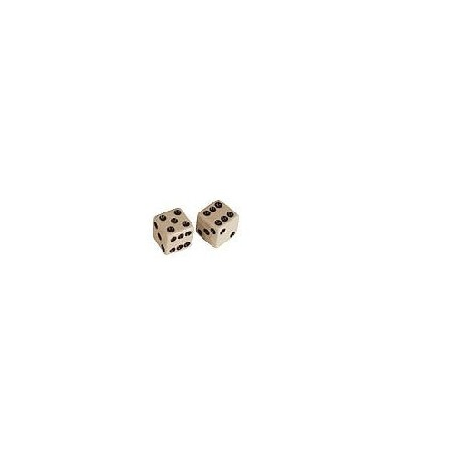 Allparts Dice Poti Knobs White