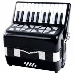 Classic Cantabile Secondo kids accordion 8 bass black