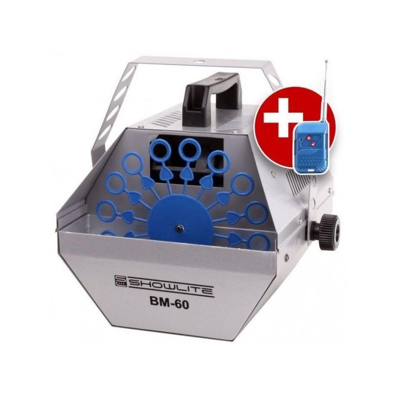 Show Lite BM-60 bubble machine with remote control