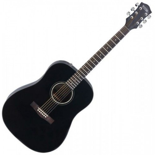 Rocktile D-60 Acoustic Guitar Black