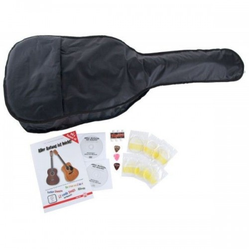Classic Cantabile 5-piece accessory set for 3/4 - 7/8 Classical Guitar