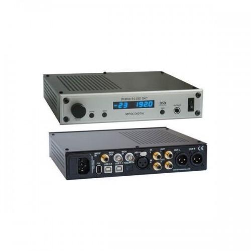 Mytek Digital Stereo 192 DSD-DAC Preamp silv