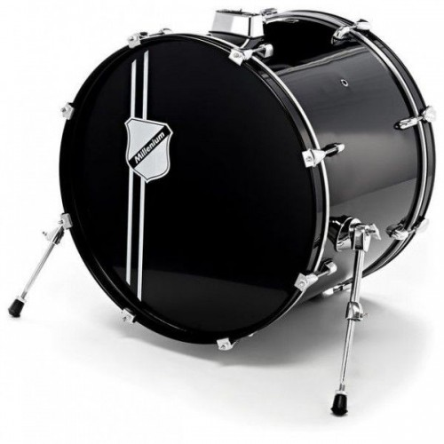 "Millenium 22""x16"" Bass Drum 300Serie -BK"