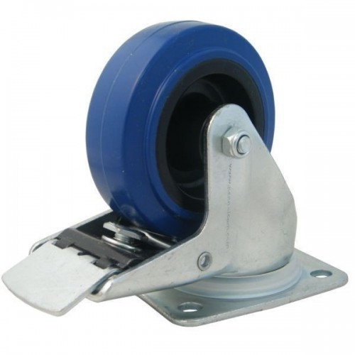 Penn Elcom W0985/80 Blue Wheel 80mm cu frana
