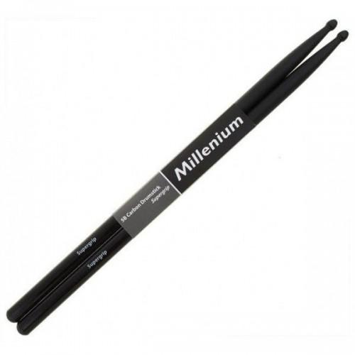 Millenium 5B Carbon Drumstick Supergrip