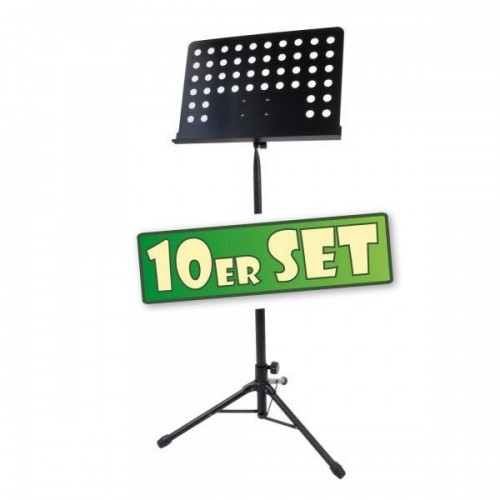 Classic Cantabile Orchestra Music Stand Set