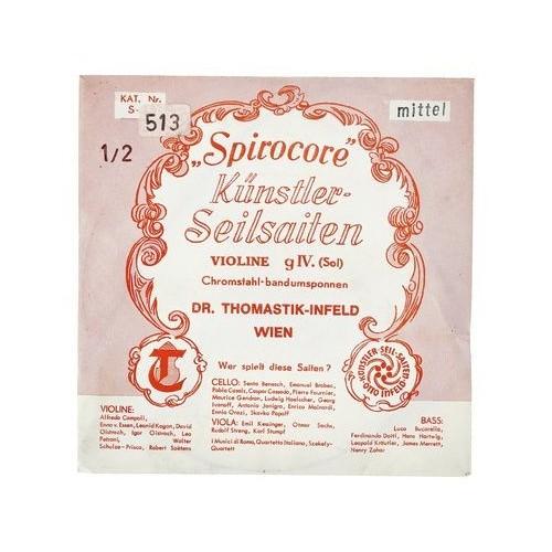 Thomastik Spirocore G Violin 1/2 medium