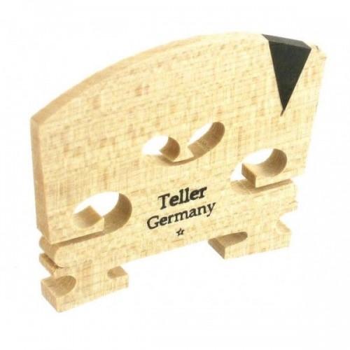 Teller Violin Bridge 4/4 V-Inlay