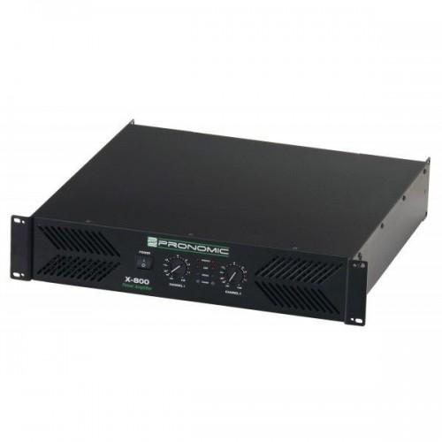 Pronomic XA-800 amplifier, 2x 1900 Watt