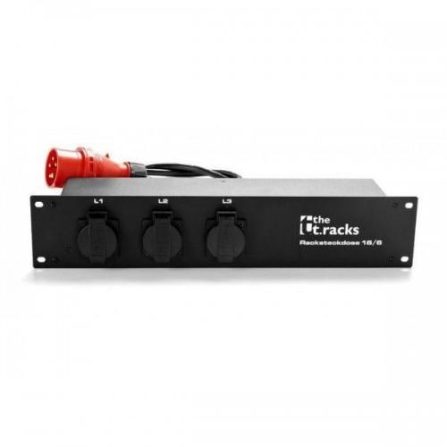 the t.racks Rack Power Distributor 16/6