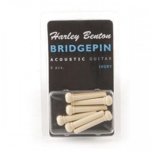 Harley Benton Bridge Pin Set Ivr Dot