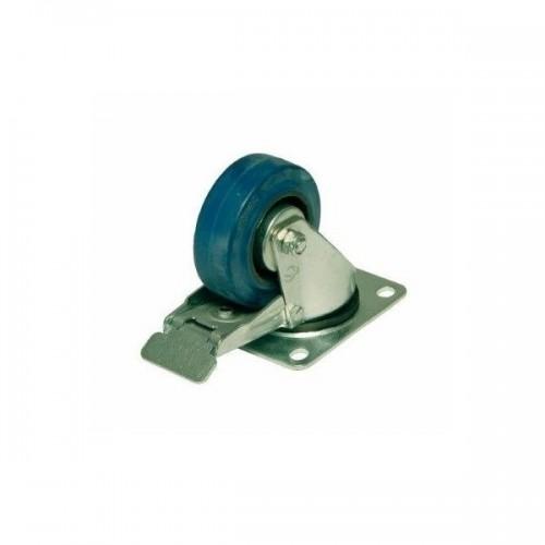 PENN ELCOM W0985/100 Blue Wheel 100 mm cu frana