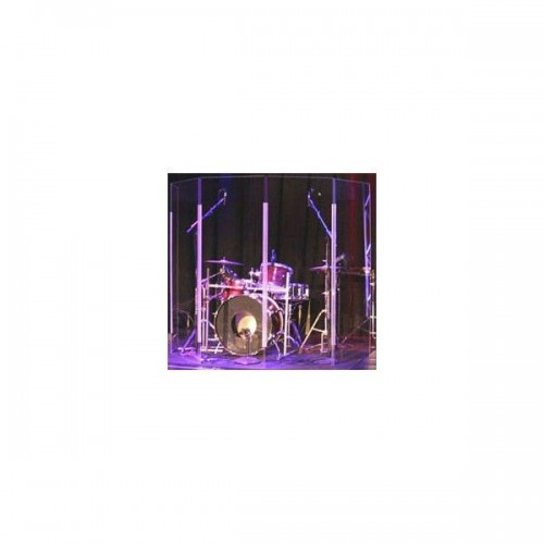 Clearsonic Lite 2466-5 Drum Shield