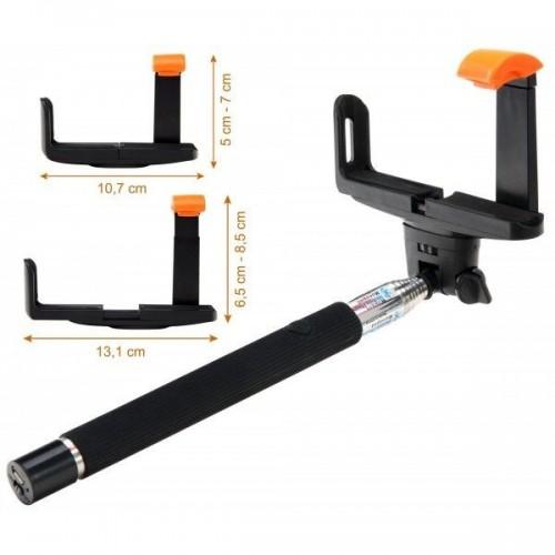 Lacoon Z07-5BK Bluetooth Selfie Stick