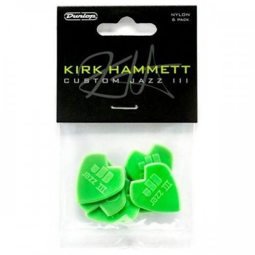 Dunlop Kirk Hammett Jazz Picks 6 Pack