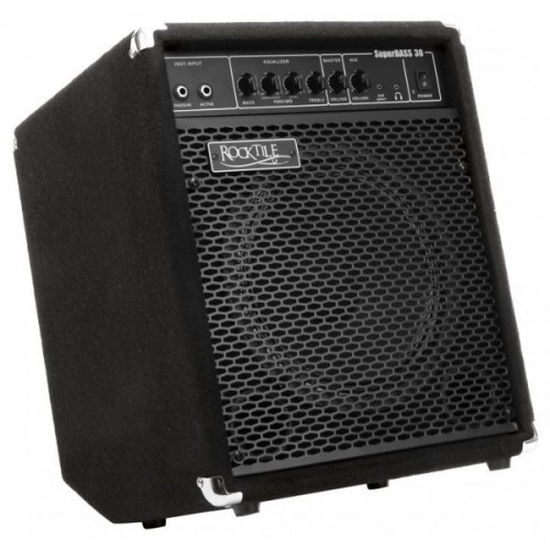 ROCKTILE SB-30 SUPERBASS30 BASS AMP 30 WATT