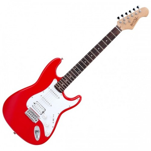 ROCKTILE BANGER'S POWER PACK E-GITARREN SET RED