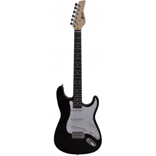 Flame Pro EGS111 10 S BK E-Guitar Set