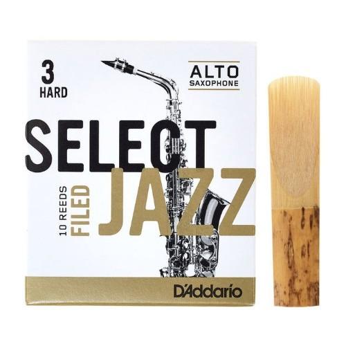 Daddario Select Jazz Filed 3H Sax Alto