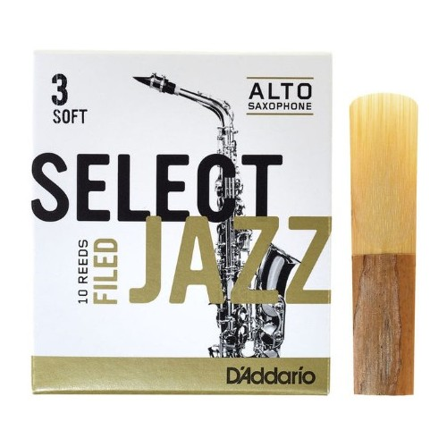 Daddario Select Jazz Filed 3S Sax Alto