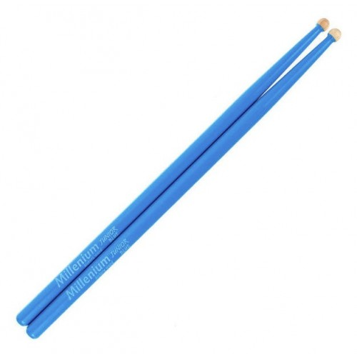 Millenium Junior Sticks Hickory Blue