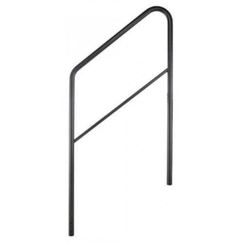Stageworx Stair Railing 3 & 4 Steps Bk