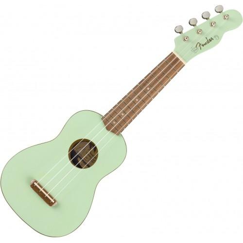 Fender Venice Soprano Ukulele WN Surf Green