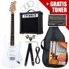 Rocktile ST Pack Electric Guitar Set White