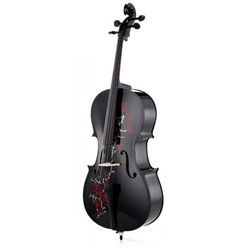 TH Violoncel Red Rose 4/4 BK