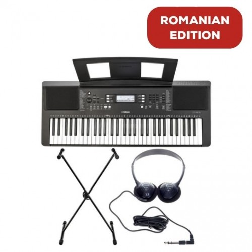 Yamaha PSR-E373 Romanian Edition Set