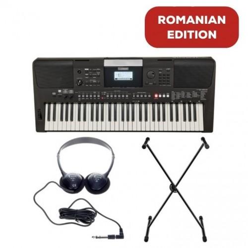 Yamaha PSR-E463 Romanian Edition Set