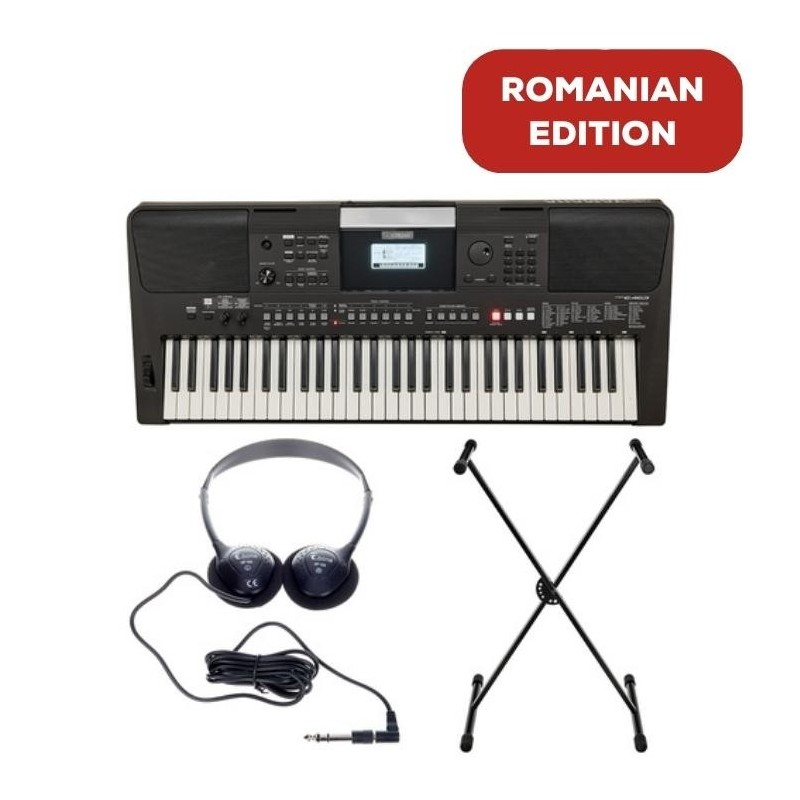 Yamaha PSR-E463 Romanian Edition Set