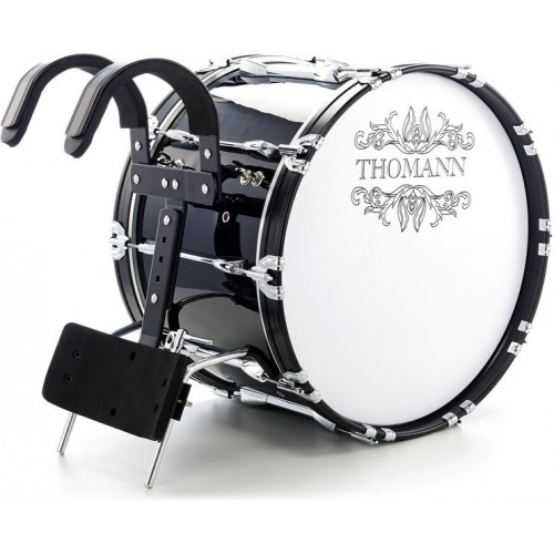 TH BD2214BL Marching Bass Drum