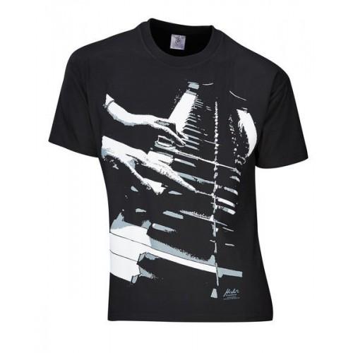 Rock You T-Shirt Piano Hands Lizenz M